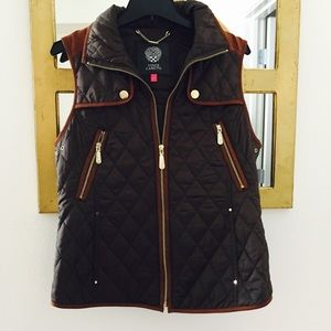 Quilted Vince Camuto Vest